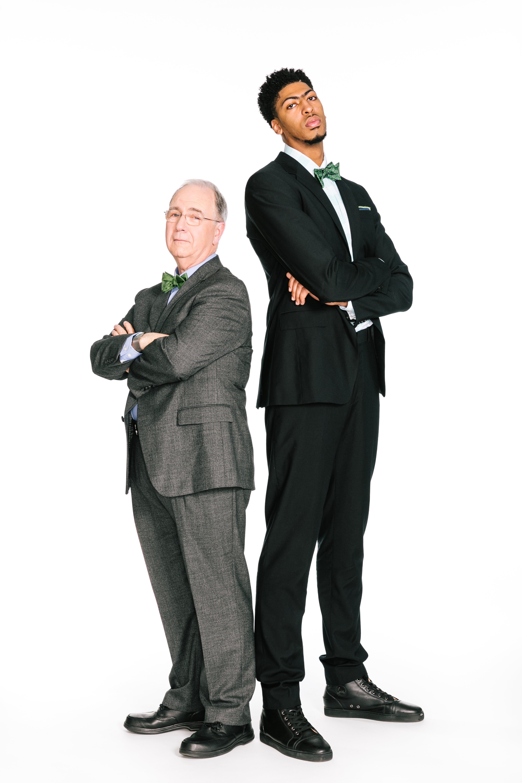 Richard Gartland and Anthony Davis
