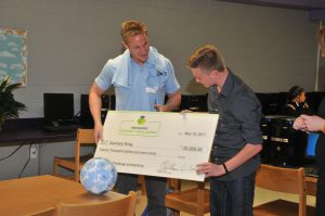 Budget Challenge winner Zachary King